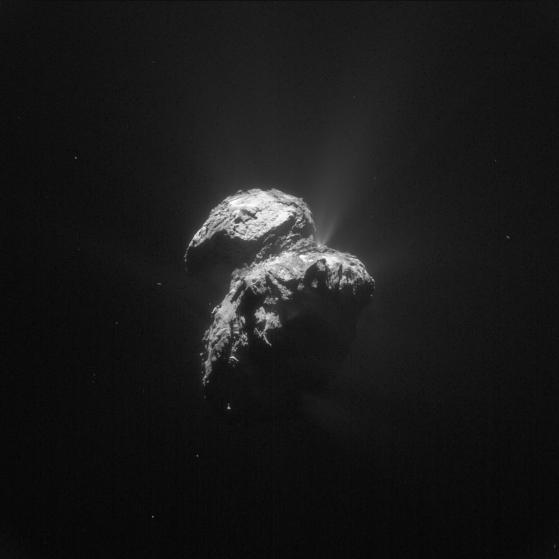 spațiu cometă NASA