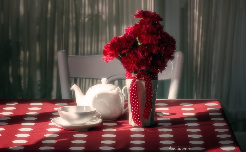 garoafe ceainărie decor