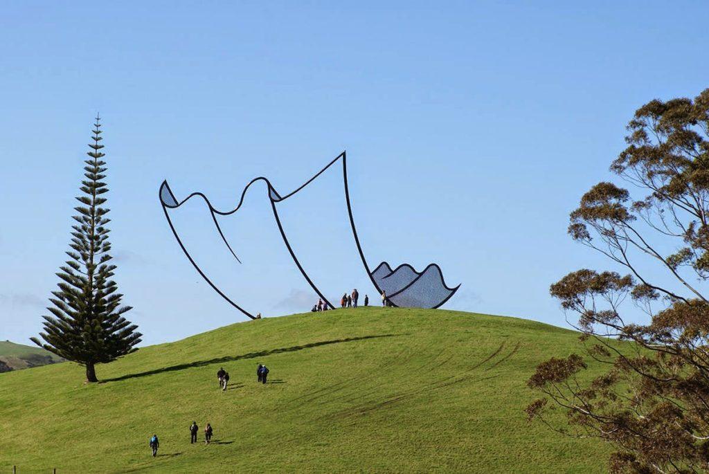 sculptură cinetică natură