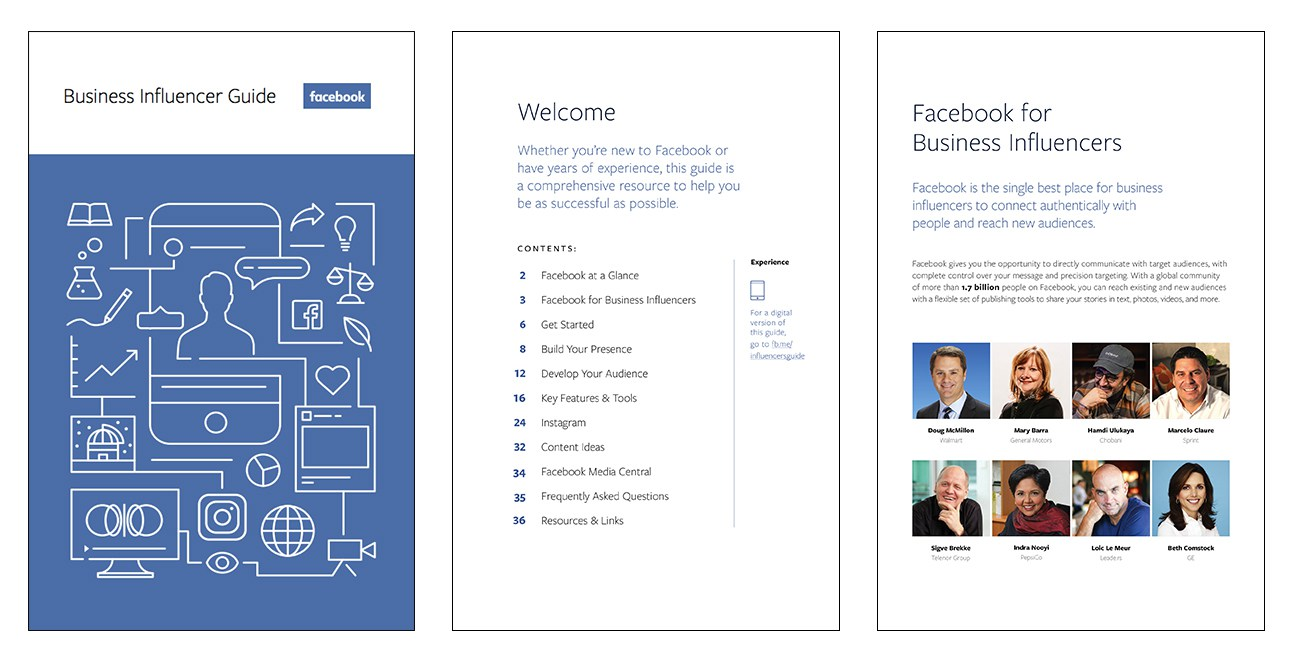 Facebook Business Influencer Guide